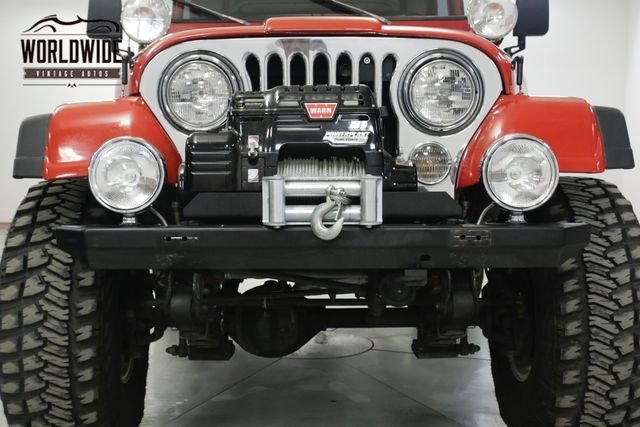 1985 Jeep Cj 4Wd