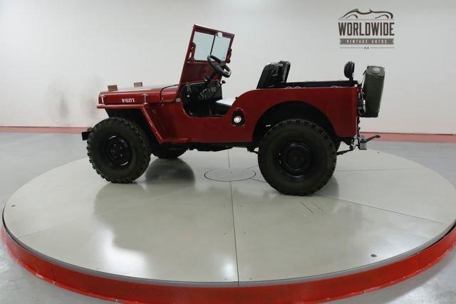 1947 Willys Cj2A