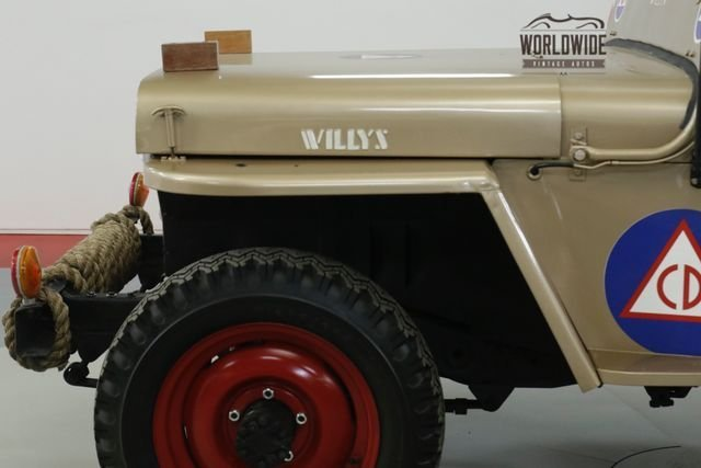 1946 Willys Cj2A
