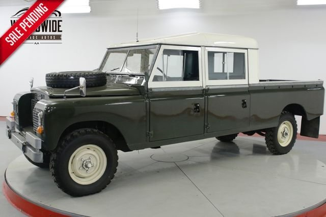 1972 land rover series