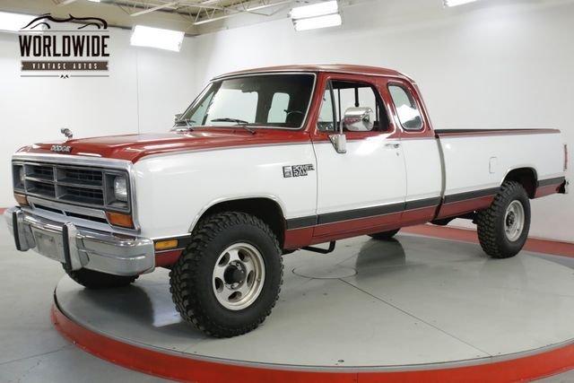 1990 Dodge W Series