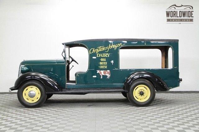 1937 Chevrolet Milk Truck
