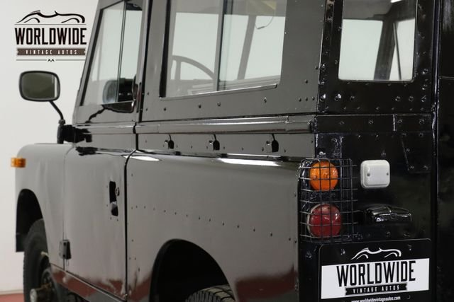 1973 Land Rover Series
