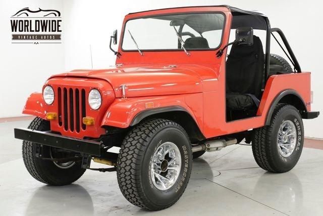 1978 jeep dj 5