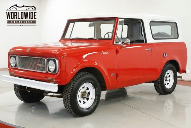 1970 international scout 800a