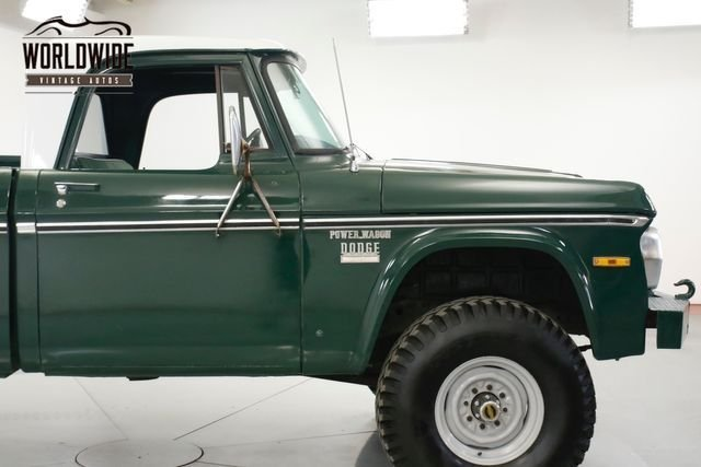 1971 Dodge Power Wagon