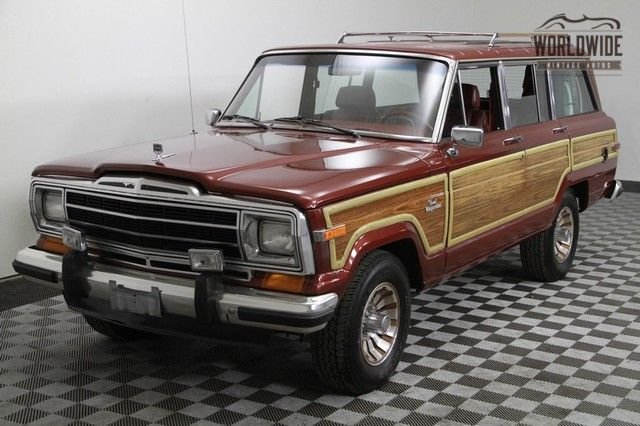 1986 Jeep Grand Wagoneer 4Wd