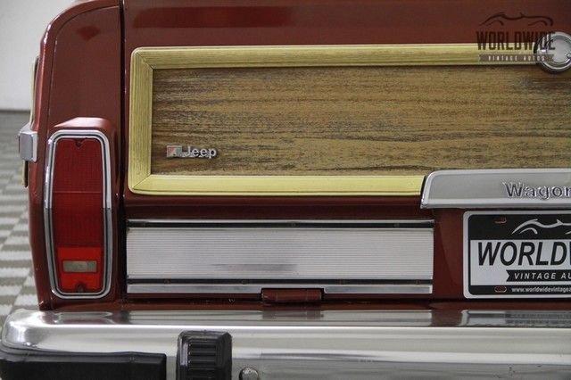 1986 Jeep Grand Wagoneer 4Wd