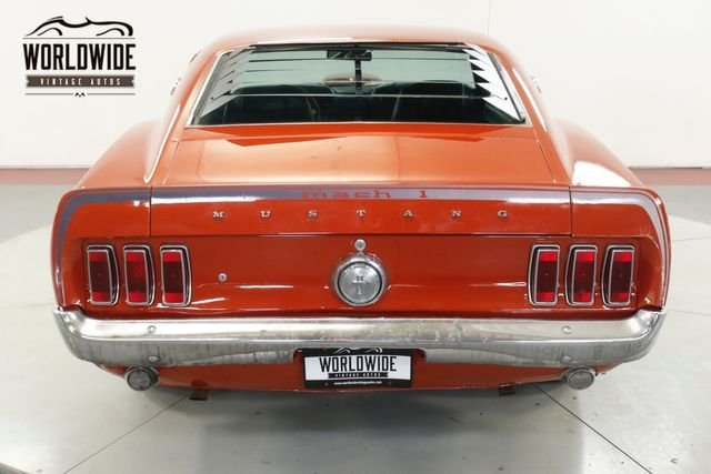 1969 Ford Mustang Fastback