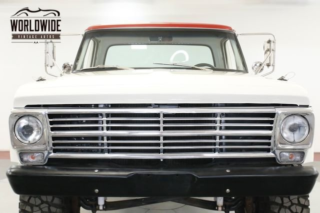1971 Ford Shortbed