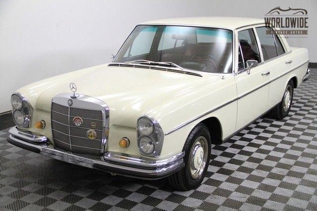 1967 mercedes 250c