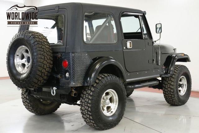 1986 Jeep Cj7 4Wd