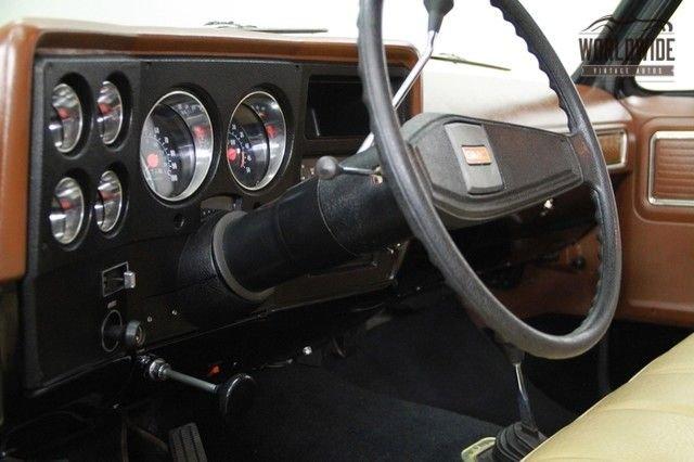 1977 Chevrolet Sierra Grande