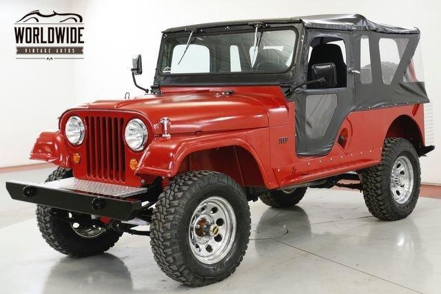 1958 Jeep Cj6