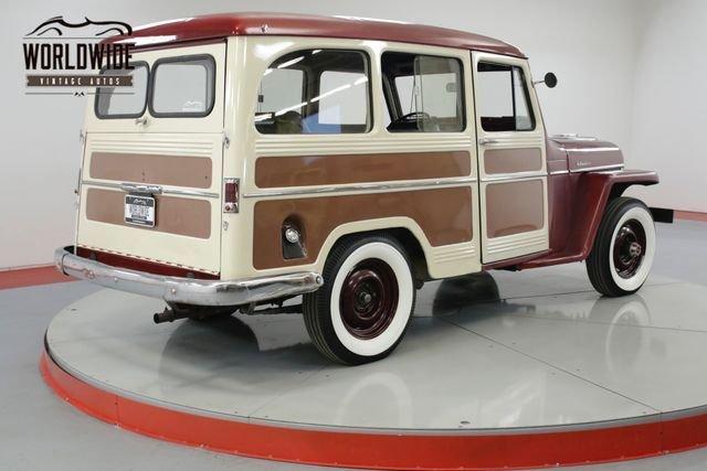 1958 Willys Wagon 4X4