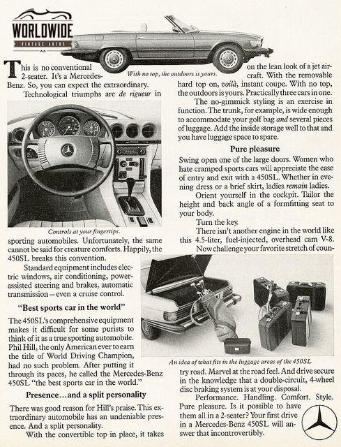 1974 Mercedes 450Sl
