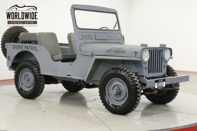 1947 Jeep Willys Cj 2A