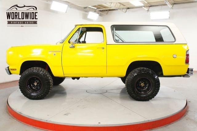 1976 Dodge Ramcharger