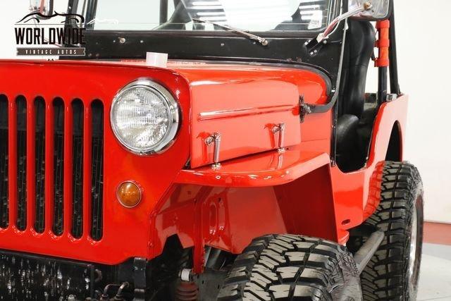 1964 Jeep Willys Cj3B