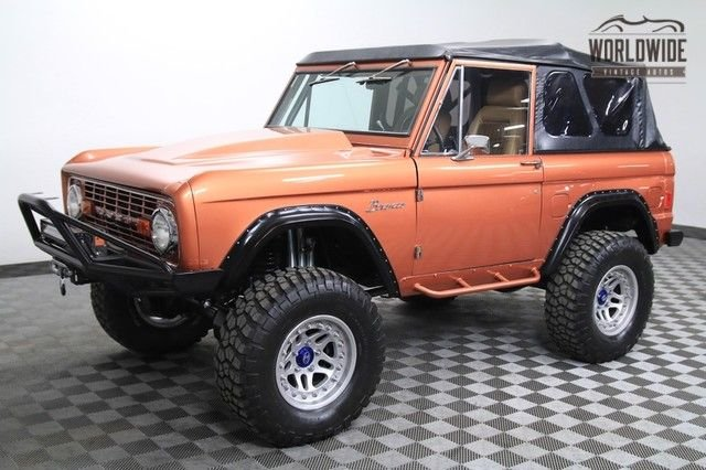 1977 ford bronco high end build