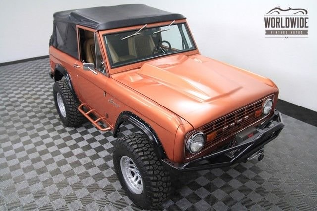 1977 Ford Bronco, High-End Build,