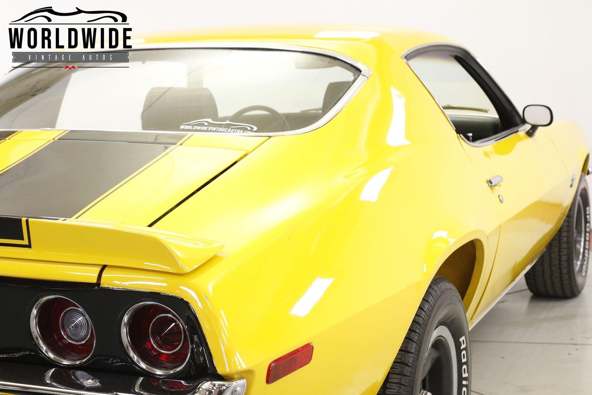 1970 Chevrolet Camaro RS Split Bumper