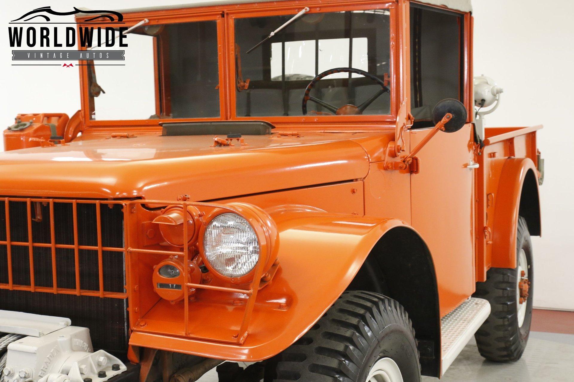 1953 Dodge M37 Army Truck