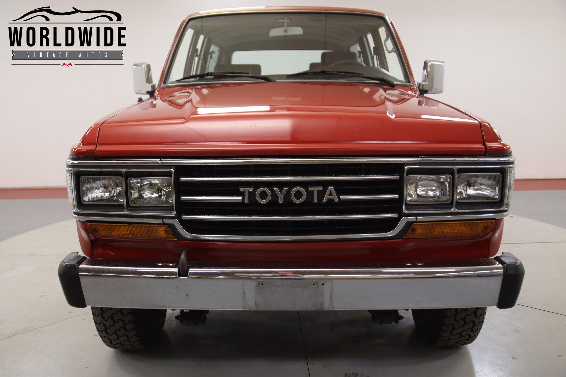 1990 Toyota Land Cruiser FJ62