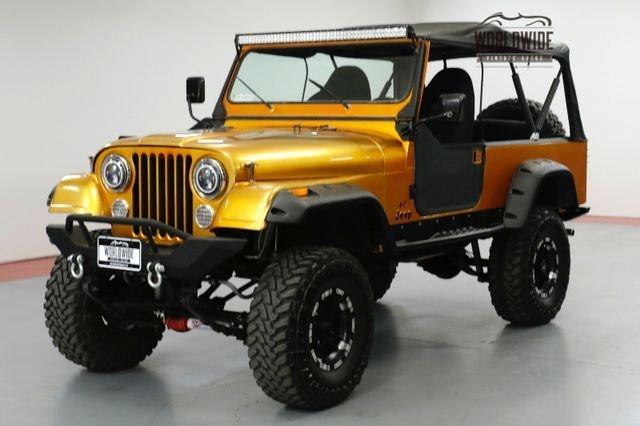 1985 jeep cj8 scrambler 4wd