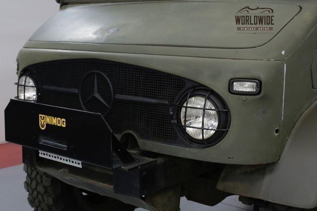 1962 Mercedes Benz Unimog 404