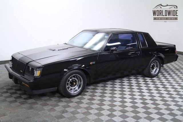 1987 buick grand national rare turbo v6