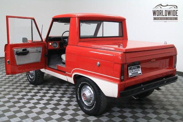 1975 Ford Bronco Half Cab Ranger