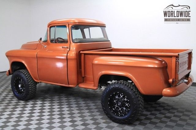 1957 Chevrolet 3100 Shortbed Big Window 4X4