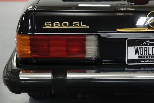 1986 Mercedes Benz 560 Series
