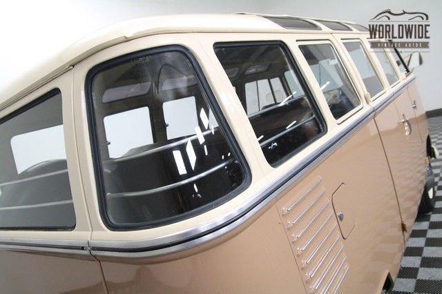 1963 Vw 23 Window Ultra Rare Walk Though Version