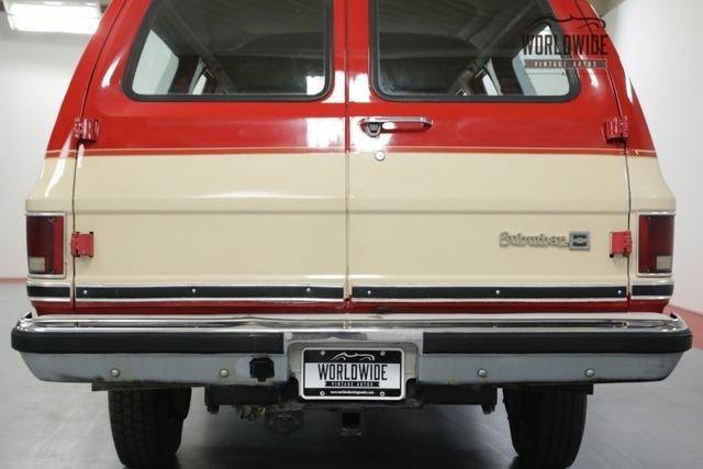 1984 Chevrolet Suburban