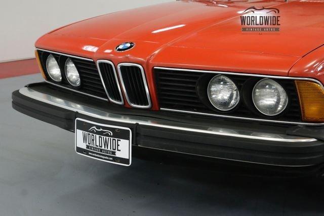 1982 BMW 6 Series 633Csi