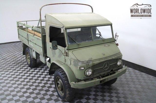 1963 Mercedes Unimog