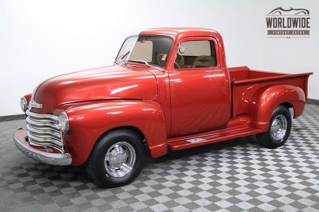 1950 chevrolet 3100 vip mild custom exterior great paint