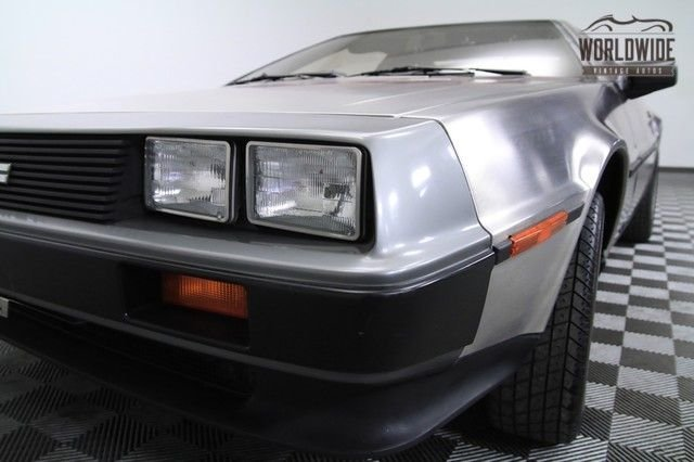 1981 Dmc Delorean, 22,000 Orig Miles 2-Owner
