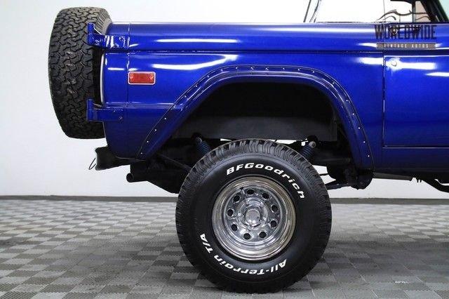 1971 Ford Bronco Half Cab