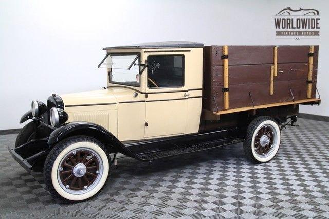 1928 chevrolet grain truck vip factory 4cyl runs great