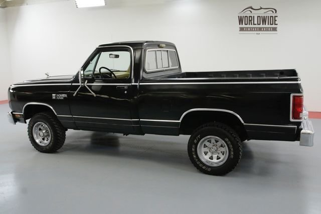 1986 Dodge D/W Series