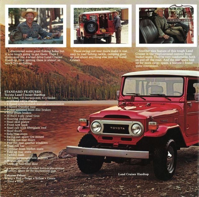 1978 Toyota Land Cruiser F40