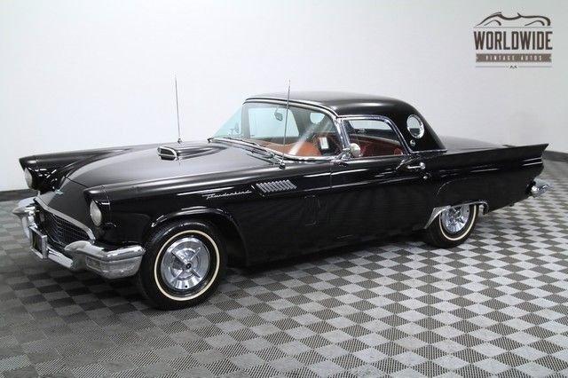 1957 ford thunderbird 44 000 original miles 312ci v8