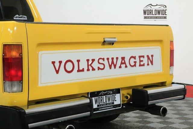 1981 Volkswagen Rabbit Pickup