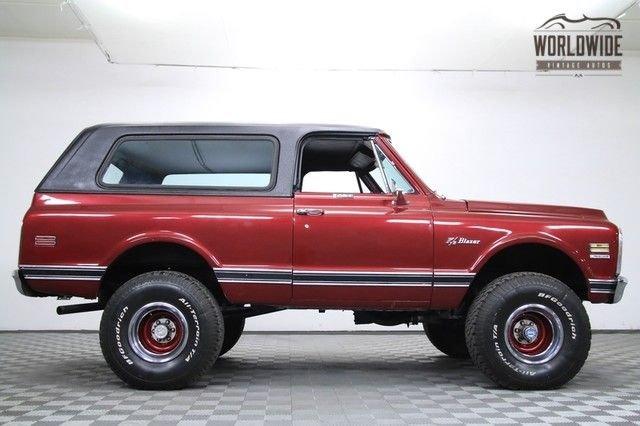 1972 Chevrolet Blazer Cst