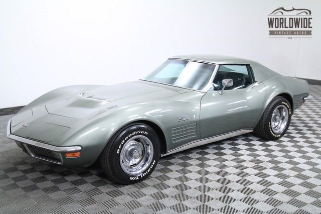 1971 chevrolet corvette all original s matching 454