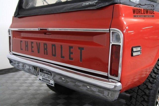 1972 Chevrolet Blazer Cst 4X4