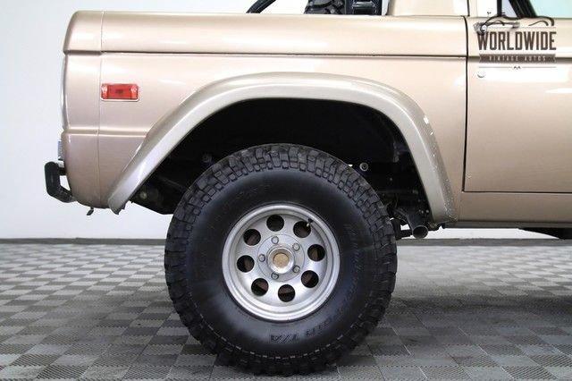 1970 Ford Bronco U14 Half Cab